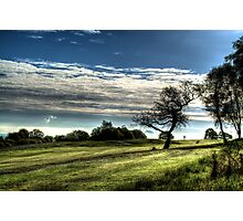Golf At Dawn Photographic Print