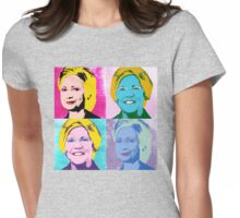 Clinton Warren 2016 Pop Art Portraits Womens Fitted T-Shirt