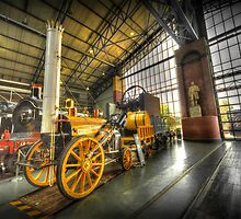 Stephenson's Rocket  by Rob Hawkins