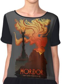 Mordor Travel Chiffon Top