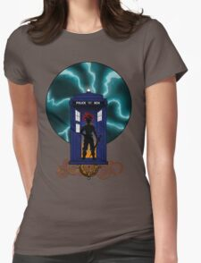 Chrono Who, Shirt & Gray Pillow/Tote  Womens Fitted T-Shirt