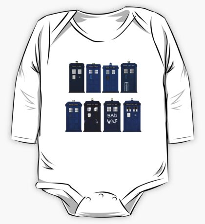 Doctor Who - The TARDIS One Piece - Long Sleeve