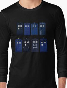 Doctor Who - The TARDIS Long Sleeve T-Shirt