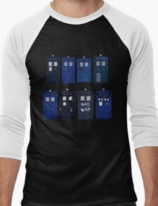 Doctor Who - The TARDIS Men's Baseball ¾ T-Shirt