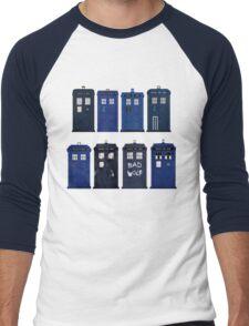 Doctor Who - The TARDIS Men's Baseball ¾ T-Shirt