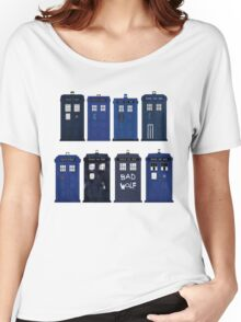 Doctor Who - The TARDIS Women's Relaxed Fit T-Shirt