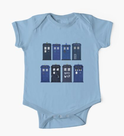 Doctor Who - The TARDIS One Piece - Short Sleeve