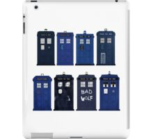 Doctor Who - The TARDIS iPad Case/Skin
