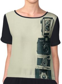 Camera Love Chiffon Top