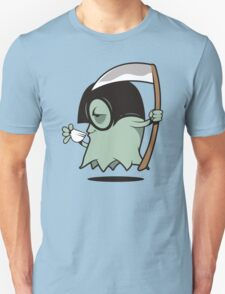 Grimm Grinning Ghost Unisex T-Shirt