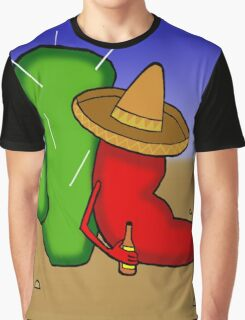 Mexican Chilli Graphic T-Shirt