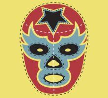 Vintage Lucha Libre Mask 01 by EmilioPereiro
