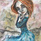 Heart shaped girl by Ida Jokela