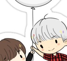 namjin + balloon Sticker