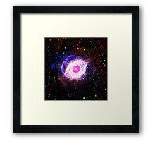 Helix Nebula Triangle | Fresh Universe Framed Print