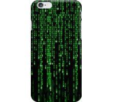 Matrix code style design iPhone Case/Skin