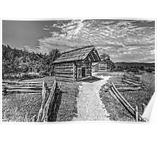 A Settlers Homestead Poster