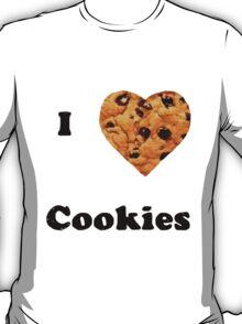 Cute I love cookies design! :) T-Shirt