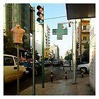 Mannequin Street Sign by celinek