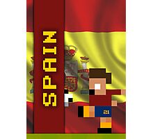 World Cup 2014: Spain Photographic Print