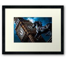 Assertion  - London Lights Framed Print