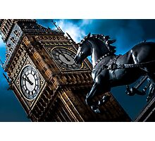 Assertion  - London Lights Photographic Print
