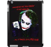 The Joker Madness-Batman Quote  iPad Case/Skin