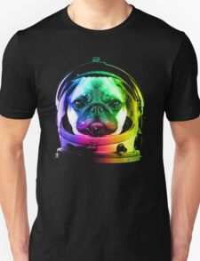 Astronaut Pug Unisex T-Shirt