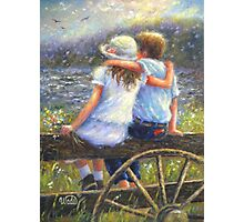 SUMMER LOVE YOUNG LOVE Photographic Print