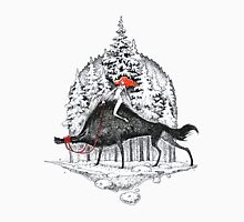 Winter with wolfs Unisex T-Shirt