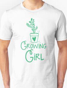 growing girl Unisex T-Shirt