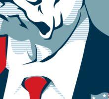 Feel The Hopper (Red White and Hopper) Sticker