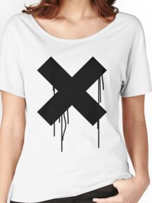 X graffiti drip Women's Relaxed Fit T-Shirt