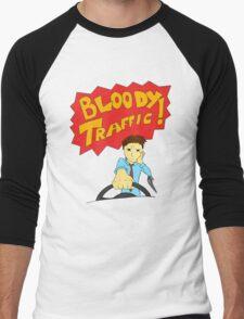 Bloody Traffic! Men's Baseball ¾ T-Shirt