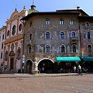 Case Rella frescoes in Trento by annalisa bianchetti