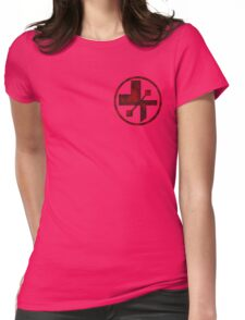 star wars- medical symbol Womens Fitted T-Shirt