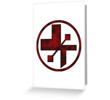 star wars- medical symbol Greeting Card