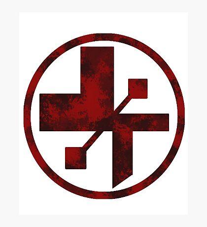 star wars- medical symbol Photographic Print