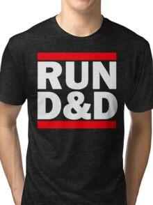 Run Dungeons and Dragons Tri-blend T-Shirt