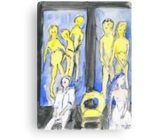 Selfs, saints, souls and ghosts III Canvas Print