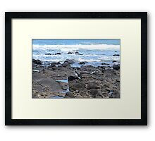 Rocky Beach, Queensland, Australia Framed Print