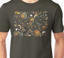 Fossilised Ammonites Unisex T-Shirt