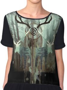 The Forest Spirits Chiffon Top