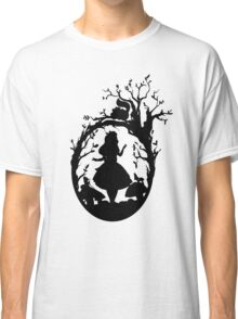 Silhouette - Alice In Wonderland Classic T-Shirt