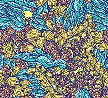 Floral abundance by Patternalized