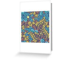 Floral abundance Greeting Card