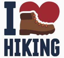 I Love Hiking by emberstudio