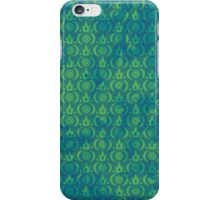 Cute Grunge Crown Pattern (H) iPhone Case/Skin