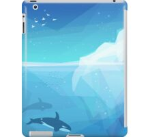Landscape of northern and Antarctic life iPad Case/Skin