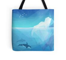 Landscape of northern and Antarctic life Tote Bag